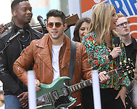June 07, 2019  Nick Jonas of Jonas Brothers at Today Show Concert Series to perform,  talk about new album Happiness Begins and tour in New York June 07, 2019   <br /> CAP/MPI/RW<br /> ©RW/MPI/Capital Pictures