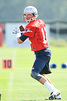 2013 Patriots Training Camp Day 3 JUL 27