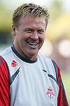 28 March 2007: Toronto head coach Mo Johnston. Toronto FC defeated the New York Red Bulls 2-1 at Blackbaud Stadium in Cary, North Carolina in the 2007 Carolina Challenge Cup.