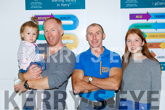 Freya and Michael McCarthy, Eamon Groves, and Eleanor Moloney at the official opening of the Two Mile Community NS on Wednesday