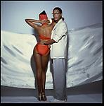 Willi and Toukie Smith, 1978, Courtesy of Anthony Barboza, © Anthony Barboza