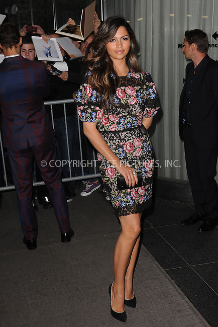 WWW.ACEPIXS.COM . . . . . .April 21, 2013...New York City....Camila Alves attends the Cinema Society screening of 'Mud' at The Museum of Modern Art on April 21, 2013 in New York City ....Please byline: KRISTIN CALLAHAN - ACEPIXS.COM.. . . . . . ..Ace Pictures, Inc: ..tel: (212) 243 8787 or (646) 769 0430..e-mail: info@acepixs.com..web: http://www.acepixs.com .