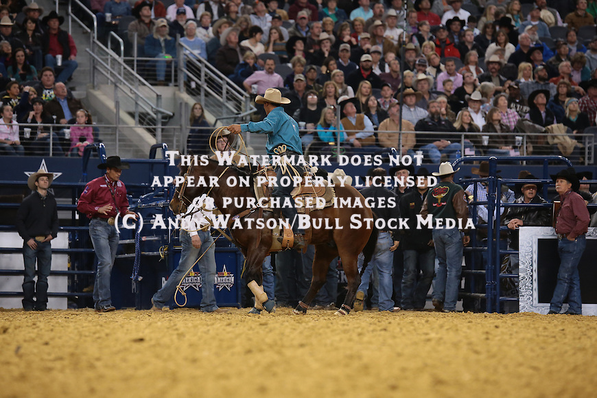 Marcos Allen Costa during the RFDTV American. Photo by Andy Watson