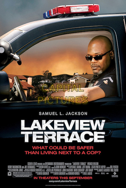 POSTER ART.in Lakeview Terrace .*Filmstill - Editorial Use Only*.CAP/FB.Supplied by Capital Pictures.