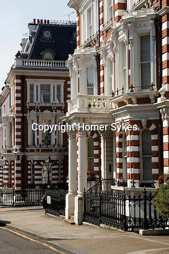 Horton street.  The Royal Borough of Kensington and Chelsea London W8. England. 2006.