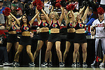 Louisville Dance team performs during their game against Northern Iowa State during the 2015 NCAA Division I Men's Basketball Championship's March 22, 2015 at the Key Arena in Seattle, Washington.  Louisville beat Northern Iowa State 66-53 to advance to the Sweet 16 ©2015. Jim Bryant Photo. ALL RIGHTS RESERVED.