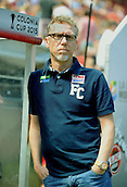 01.08.2015. RheinEnergieStadion, Cologne, Germany. Colonia Cup  FC Cologne versus Stoke City. Trainer Peter Stoger (Cologne)
