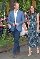 Prince William and Catherine Duchess of Cambridge visit Claerchens Ballhaus