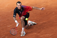 Internazionali d'Italia di tennis a Roma, 9 maggio 2008..Italy's Masters tennis tournament in Rome, 9 may 2008. Czech Republic's Radek Stepanek..UPDATE IMAGES PRESS/Riccardo De Luca