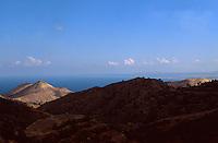 Zypern (Süd), Blick vom Troodos auf Bucht von Güzelyurt (Morfou)