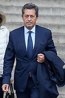 Georges Fenech - Hommage à Gonzague Saint Bris en l'église Saint-Sulpice à Paris, France - 28/9/2017