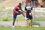Getafe CF's Karim Yoda during training session. August 1,2017.(ALTERPHOTOS/Acero)