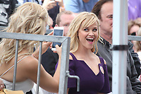 HOLLYWOOD, CA - MAY 04: Kate Hudson takes a quick photo of Reese Witherspoon at the ceremony honoring Goldie Hawn and Kurt Russell with a double star ceremony on The Hollywood Walk of Fame on May 4, 2017 in Hollywood, California. Credit: Faye Sadou/MediaPunch