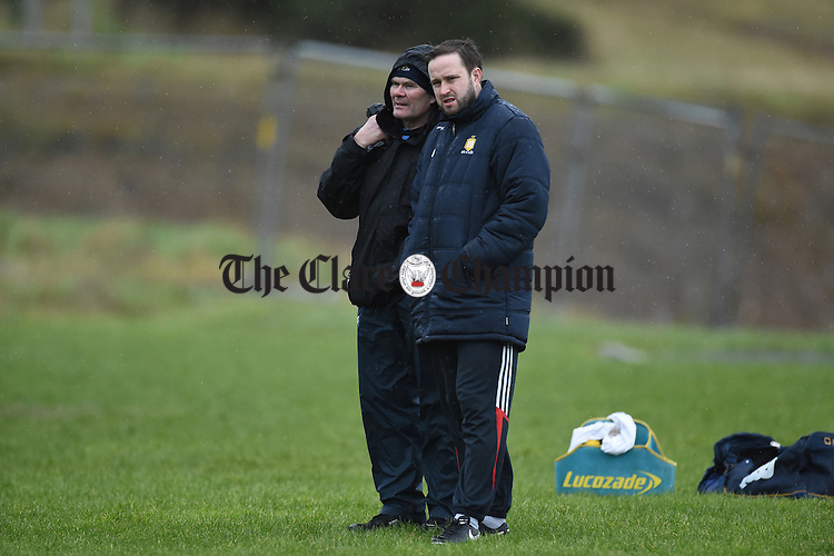 Clare's XXX and PR man Mark Dunphy  before their Munster Senior Hurling League Round Four game against Waterford at Carriganore. Photograph by John Kelly.