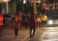 SÃO PAULO,SP,03 AGOSTO 2012 - FESTA PRAÇA ZONA LESTE<br /> Policias Militares do 21º batalhão fecharam a Pça Visconde de Souza  Fontes na Mooca,segunda PM jovens iriam fazer uma festa chamada PROJETO P baseada no filme PROJETO X. FOTO ALE VIANNA - BRAZIL PHOTO PRESS