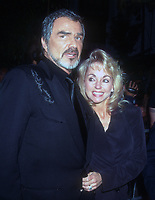Burt Reynolds, Pam Seals, 1996, Photo By Michael Ferguson/PHOTOlink