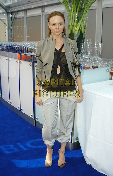 STELLA McCARTNEY.Glamour Magazine's Women Of The Year Awards. Berkeley Square Gardens, London, W1.June 8th, 2004.full length, full-length, three quarter length trousers, green jacket.www.capitalpictures.com.sales@capitalpictures.com.©Capital Pictures
