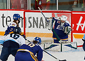 MORDEN, MB– Nov 5 2019: Game 2 - Team Quebec v Team British Columbia during the 2019 National Women's Under-18 Championship at the Access Event Centre in Morden, Manitoba, Canada. (Photo by Dennis Pajot/Hockey Canada Images)