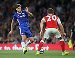 Chelsea's Marcos Alonso in action during the Premier League match at the Emirates Stadium, London. Picture date September 24th, 2016 Pic David Klein/Sportimage