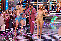 "Ashley Roberts, Ranj Singh and Stacey Dooley<br /> at the launch of ""Strictly Come Dancing"" 2018, BBC Broadcasting House, London<br /> <br /> ©Ash Knotek  D3426  27/08/2018"