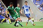 League Santander 2017-2018 - Game: 2<br /> RCD Espanyol vs CD Leganes: 0-1.<br /> Ezequiel Mu&ntilde;oz vs Gerard Moreno.