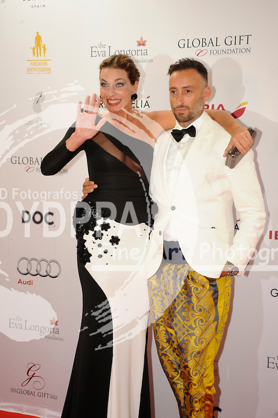 Eva Longoria&acute;s Global Gift Celebrity Dinners Gala to help raise money for The Eva Longoria Foundation at Melia Don Pepe in Marbella. Spain on July 20, 2014.<br /> Alejandra Osborne