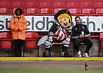 Captain Blade during the English League One match at Bramall Lane Stadium, Sheffield. Picture date: April 5th 2017. Pic credit should read: Andy Jones/Sportimage