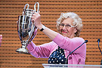 Madrid Mayor Manuela Carmena during visit to Madrid Council during  the celebration of the 13th UEFA Championship in Madrid, June 04, 2017. Spain.<br /> (ALTERPHOTOS/BorjaB.Hojas)
