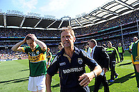 Jack O'Connor celebrates after winning the Minor All-Ireland Football Final against Donegal in Croke Park 2014.<br /> Photo: Don MacMonagle<br /> <br /> <br /> Photo: Don MacMonagle <br /> e: info@macmonagle.com