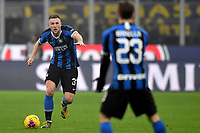 Milan Skriniar of FC Internazionale <br /> Milano 09/02/2020 Stadio San Siro <br /> Football Serie A 2019/2020 <br /> FC Internazionale - AC Milan <br /> Photo Andrea Staccioli / Insidefoto