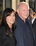 Anthony Hopkins and wife at The Marvel Studios Premiere of THOR held at The El Capitan Theatre in Hollywod, California on May 02,2011                                                                               © 2010 Hollywood Press Agency