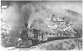 RGS 2-8-0 #42 hauling a freight with #41 as helper.<br /> RGS  Porter, CO  Taken by Kindig, Richard H. - 7/4/1938