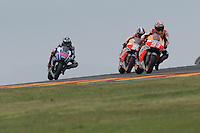 Aragon (Spagna) 28/09/2014 - gara Moto GP / foto Luca Gambuti/Image Sport/Insidefoto<br /> nella foto: Jorge Lorenzo-Dani Pedrosa-Marc Marquez