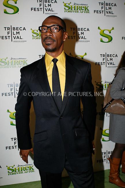 WWW.ACEPIXS.COM . . . . .  ....April 21 2010, New York City....Actor Eddie Murphy arriving at the premiere of 'Shrek Forever After' as part of the Tribeca Film Festival at the Ziegfeld Theatre on April 21 2010 in New York City....Please byline: NANCY RIVERA- ACEPIXS.COM.... *** ***..Ace Pictures, Inc:  ..Tel: 646 769 0430..e-mail: info@acepixs.com..web: http://www.acepixs.com