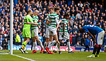 11.3.2018 Rangers v Celtic:<br /> Scott Bain and Scott Brown