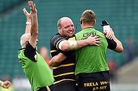 Craig Williams of Cornwall celebrates at the final whistle. Bill Beaumont County Championship Division 1 Final between Cheshire and Cornwall on June 2, 2019 at Twickenham Stadium in London, England. Photo by: Patrick Khachfe / Onside Images