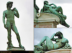 David and Allegories of Dawn and Night Piazzale Michelangelo Florence