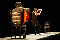 London, UK. 10.03.2014. Belen Maya Compnay present TRASMIN as part of the Flamenco Festival London 2014 at Sadler's Wells. Picture shows: Manuel Linan. © Jane Hobson.
