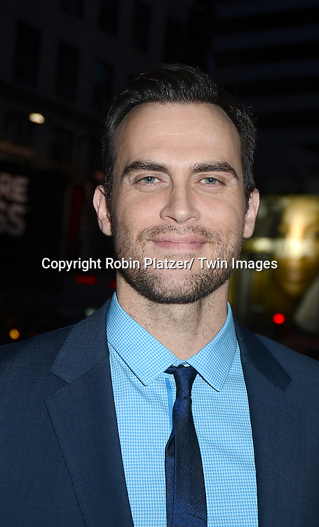Cheyenne Jackson  attends Rogers +  Hammerstein's Cinderella Broadway Opening night on March 3, 2013 at the Broadway Theatre in New York City.