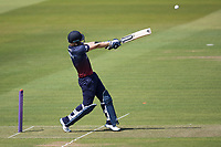 Liam Livingstone of Lancashire CCC pulls a short delivery high to be caught on the deep midwicket boundary during Middlesex vs Lancashire, Royal London One-Day Cup Cricket at Lord's Cricket Ground on 10th May 2019