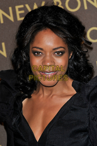 NAOMIE HARRIE .attends the launch of the Louis Vuitton Bond Street Maison Store in London, England, UK, May 25th, 2010. .portrait headshot black make-up eyeliner .CAP/PL.©Phil Loftus/Capital Pictures.