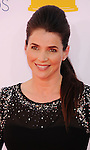 LOS ANGELES, CA - SEPTEMBER 23: Julia Ormond arrives at the 64th Primetime Emmy Awards at Nokia Theatre L.A. Live on September 23, 2012 in Los Angeles, California.