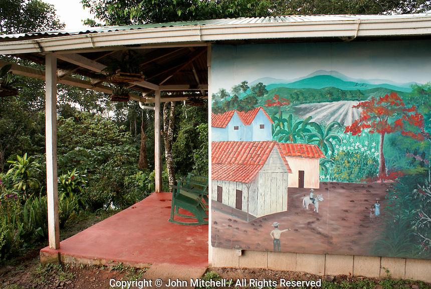 Cabin at Finca Esperaza Verde  near Matagalpa, Nicaragua