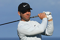 Paul Casey (ENG) in action at Spyglass Hill Golf Course during the third round of the AT&T Pro-Am, Pebble Beach Golf Links, Monterey, USA. 09/02/2019<br /> Picture: Golffile | Phil Inglis<br /> <br /> <br /> All photo usage must carry mandatory copyright credit (© Golffile | Phil Inglis)
