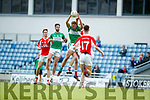 Rob Ó Sé West Kerry in action against Billy McGuire Legion in the Quarter Final of the Kerry Senior County Championship at Austin Stack Park on Sunday.