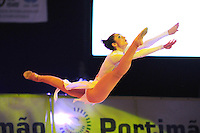 Anna Bessonova of Ukraine performs gala routine at 2009 World Cup at Portimao, Portugal on April 19, 2009.  (Photo by Tom Theobald).