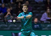 Rotterdam, The Netherlands, 13 Februari 2019, ABNAMRO World Tennis Tournament, Ahoy,  first round singles: Martin Klizan (SVK)<br /> Photo: www.tennisimages.com/Henk Koster