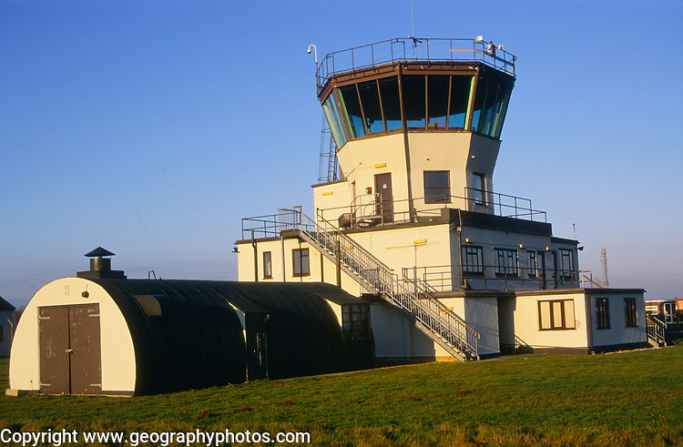 AF5GN9 Control tower former Bentwaters USA airbase Rendlesham Suffolk England