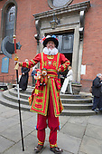 Covent Garden, London, UK. 11 May 2014. The Covent Garden May Fayre and Puppet Festival takes place at St Paul's Church.