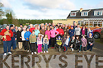 Walkers taking part in the kerry County Council/Mary Horan Annual walk in association with Tralee & Listowel MS and Tralee wheelchair branch at Lyreacrompane on Sunday afternoon.